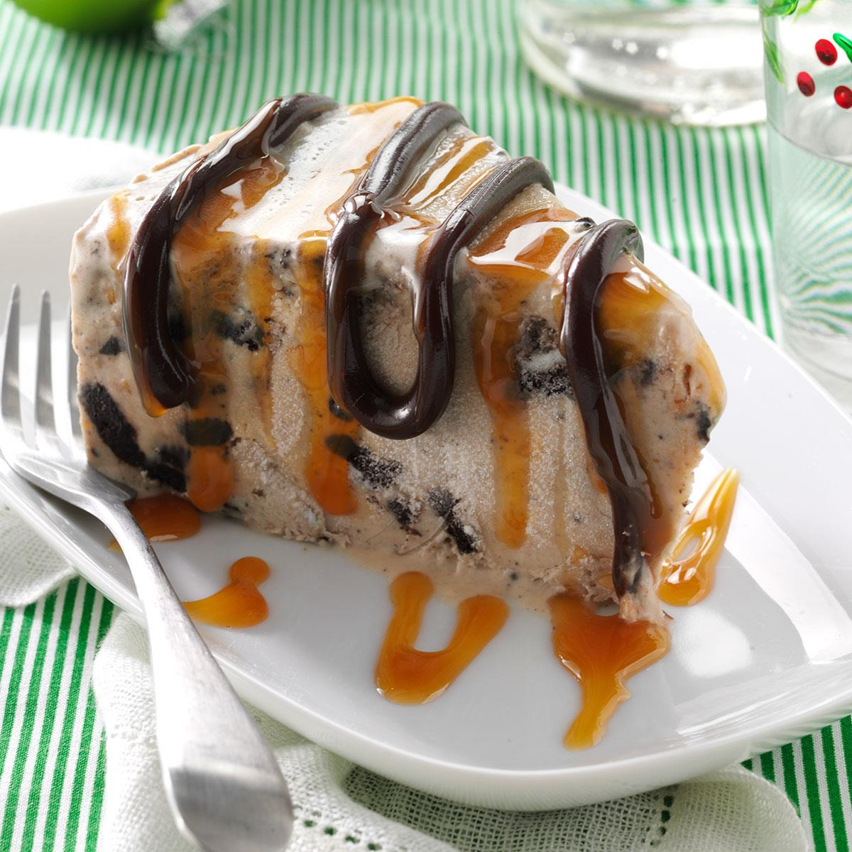 Peanut Butter Cheesecake Ice Cream Recipe | Taste of Home