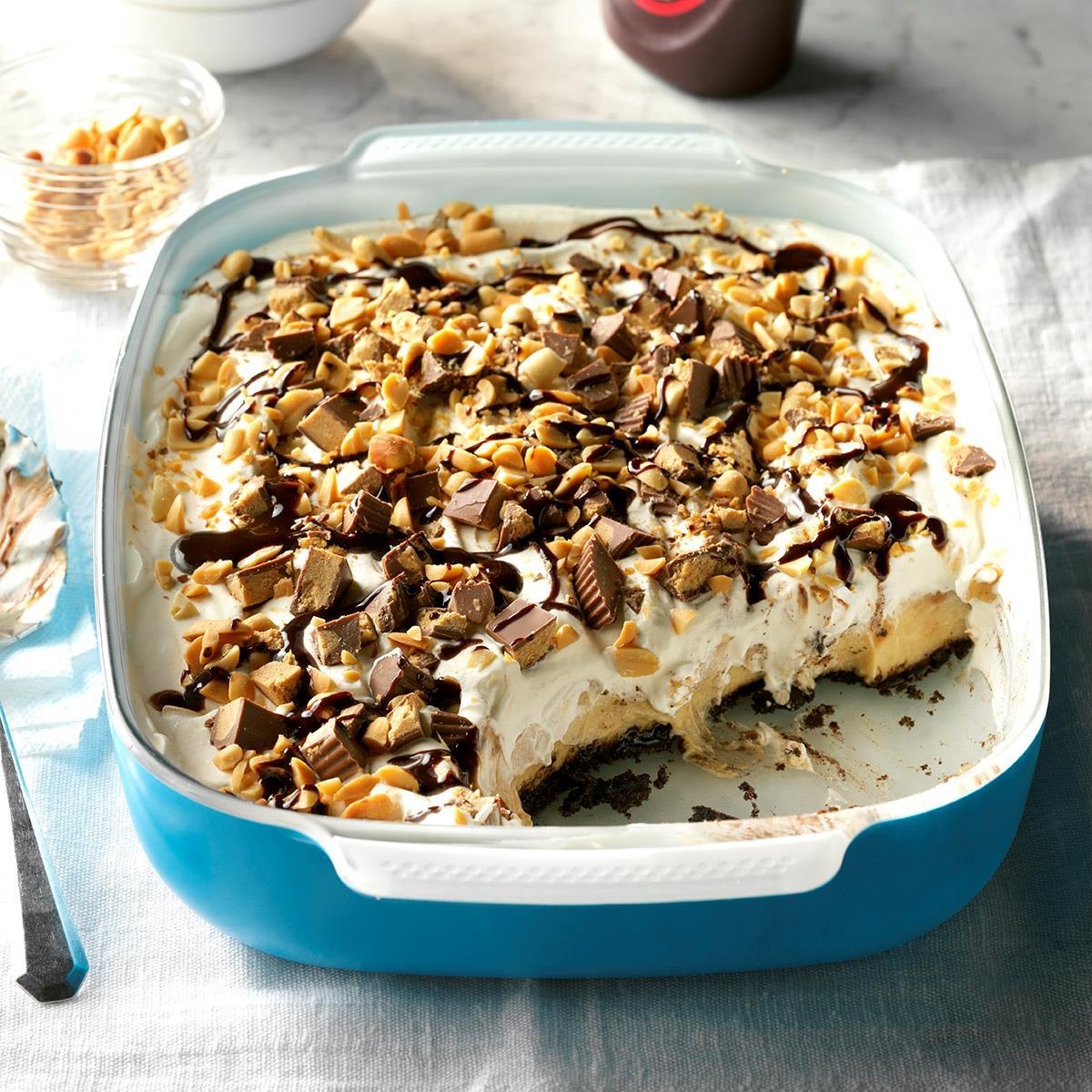 Peanut Butter Dessert Recipes: Peanut Butter Custard Blast Recipe
