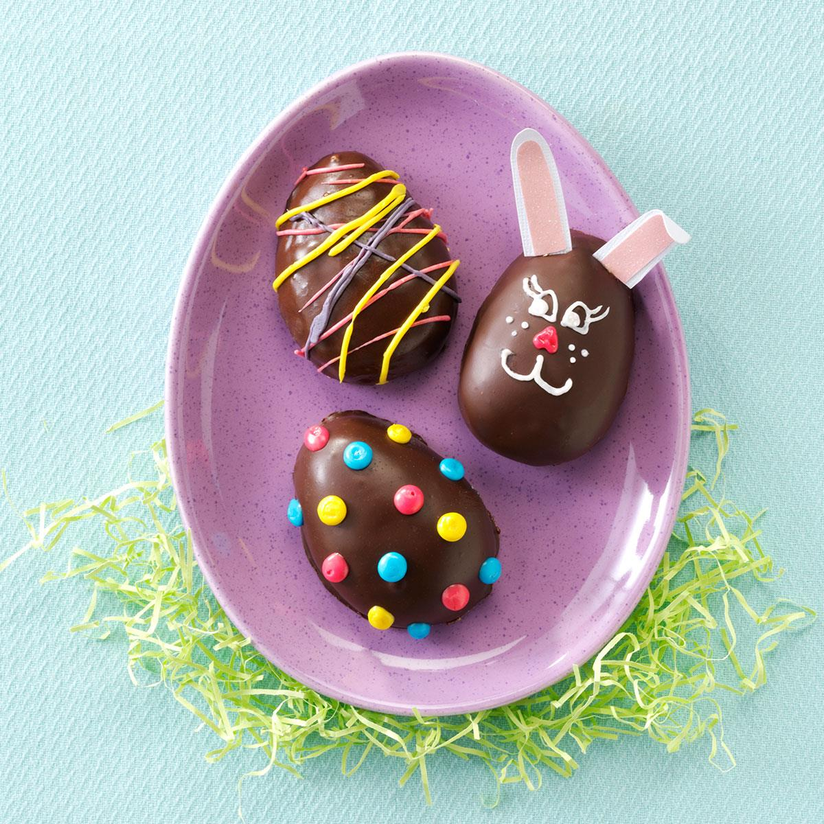peanut butter easter eggs recipe taste of home