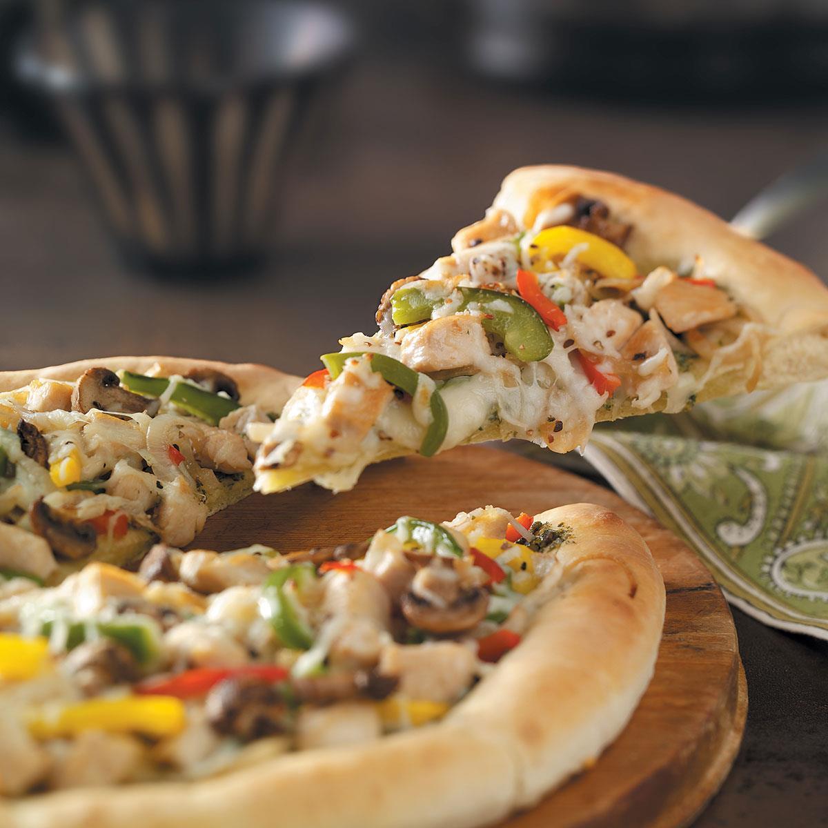 recipe: pesto pizza recipe [24]