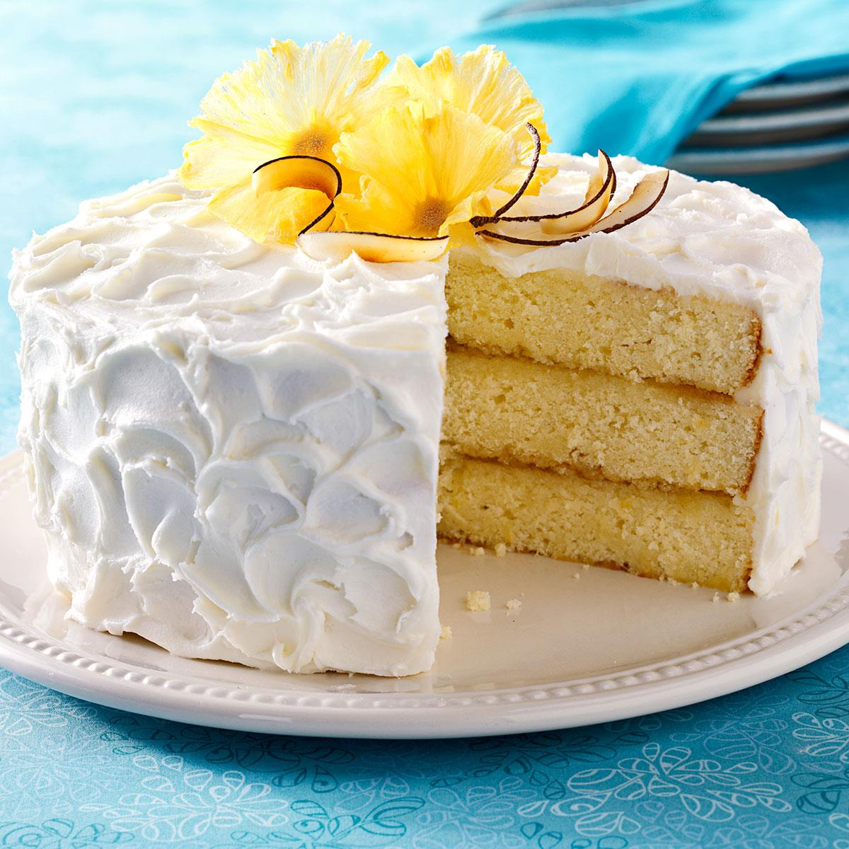 How To Make A Pina Colada Cake