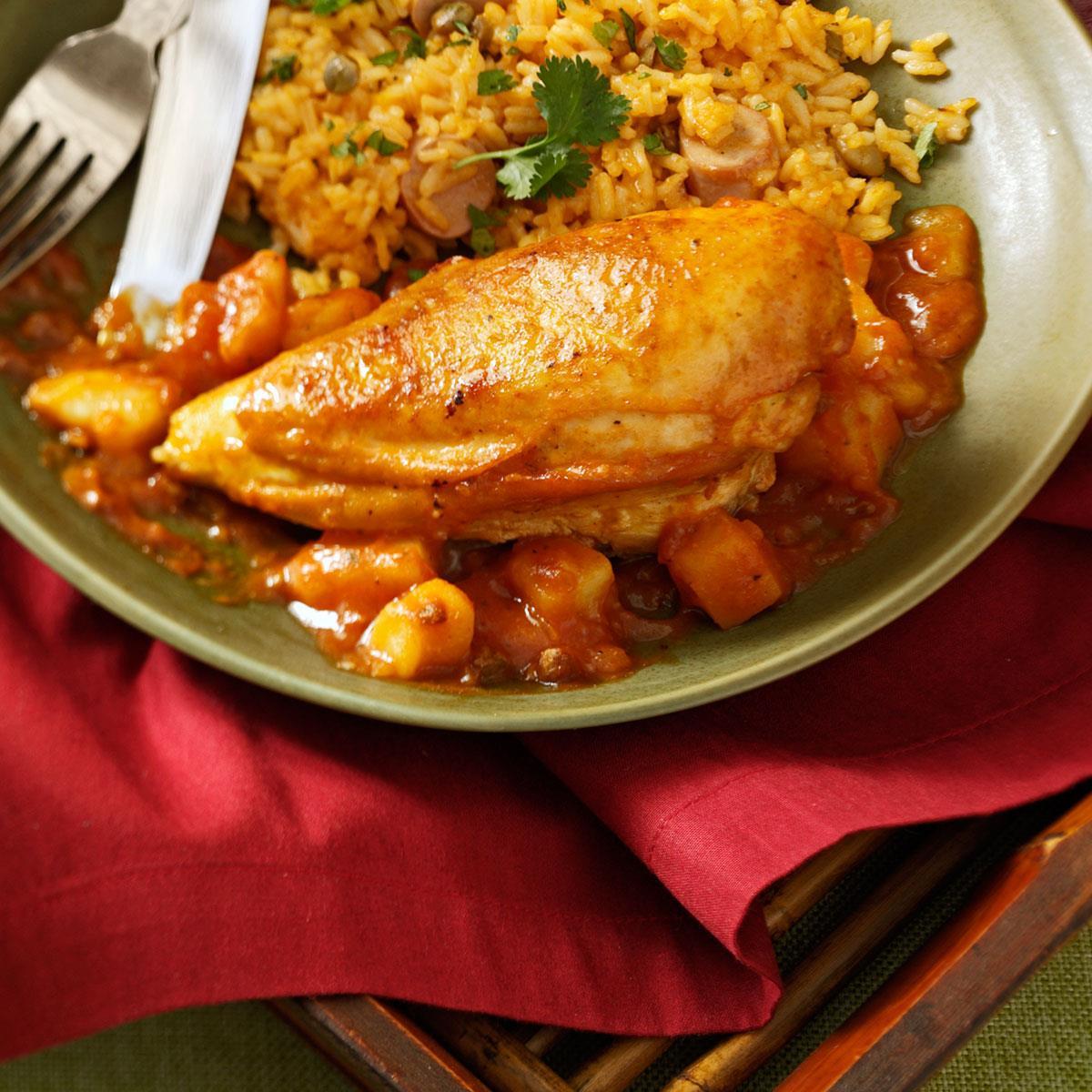 Pollo Guisado (Chicken Stew) Recipe