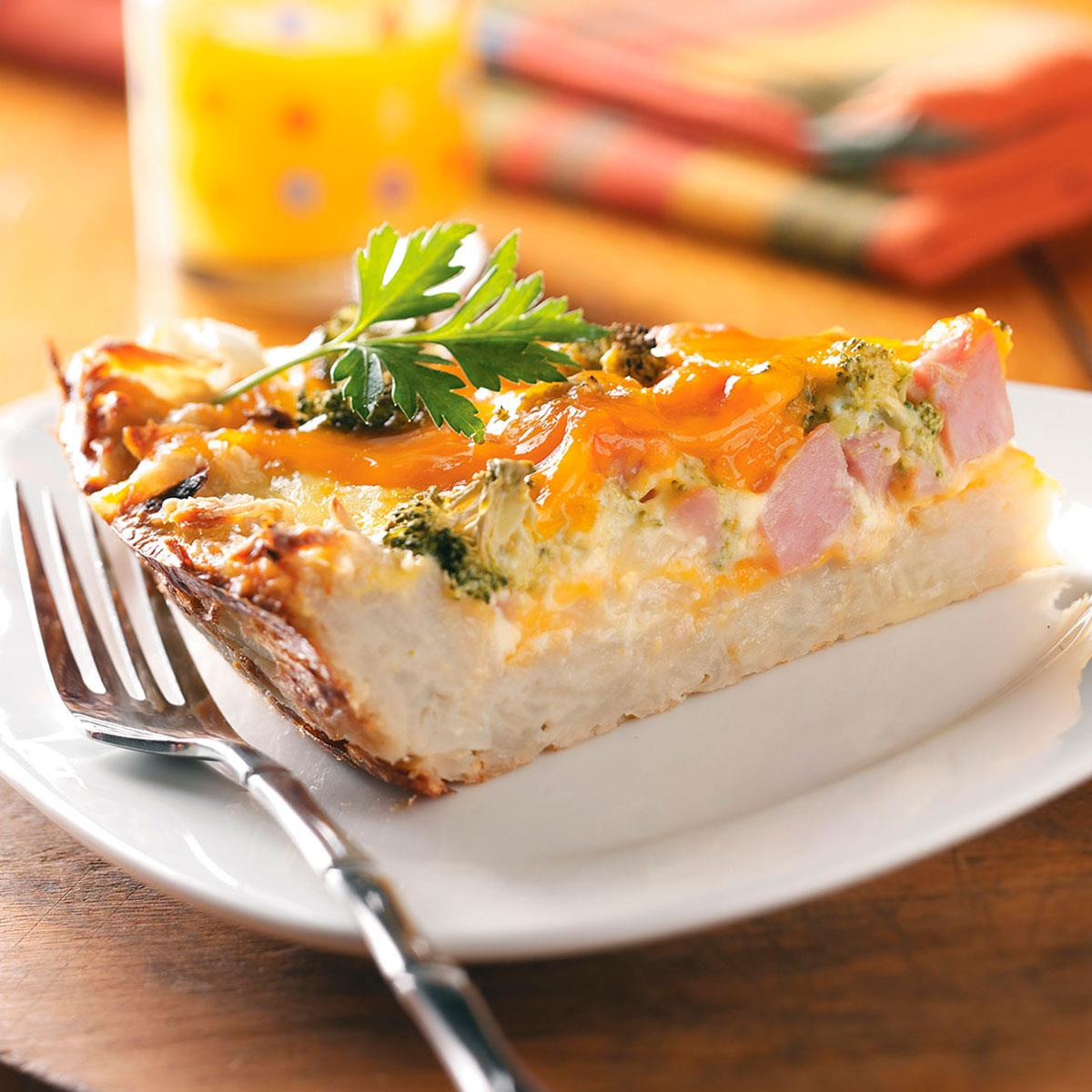 Potato Crust Quiche Recipe Taste Of Home
