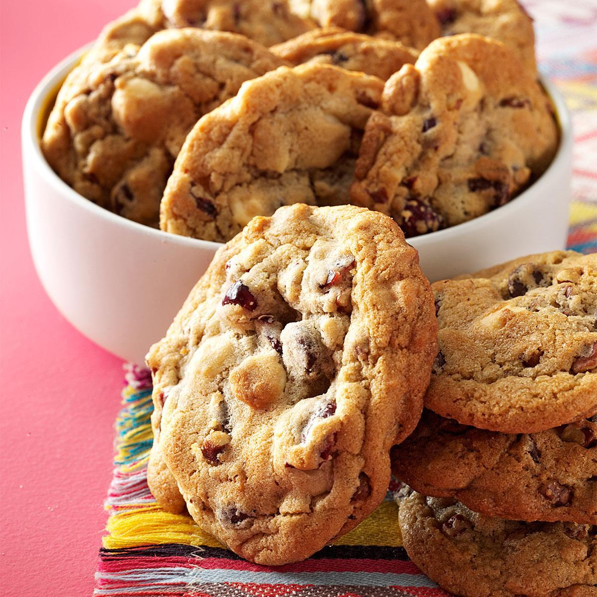 Quick Cranberry Chip Cookies Recipe