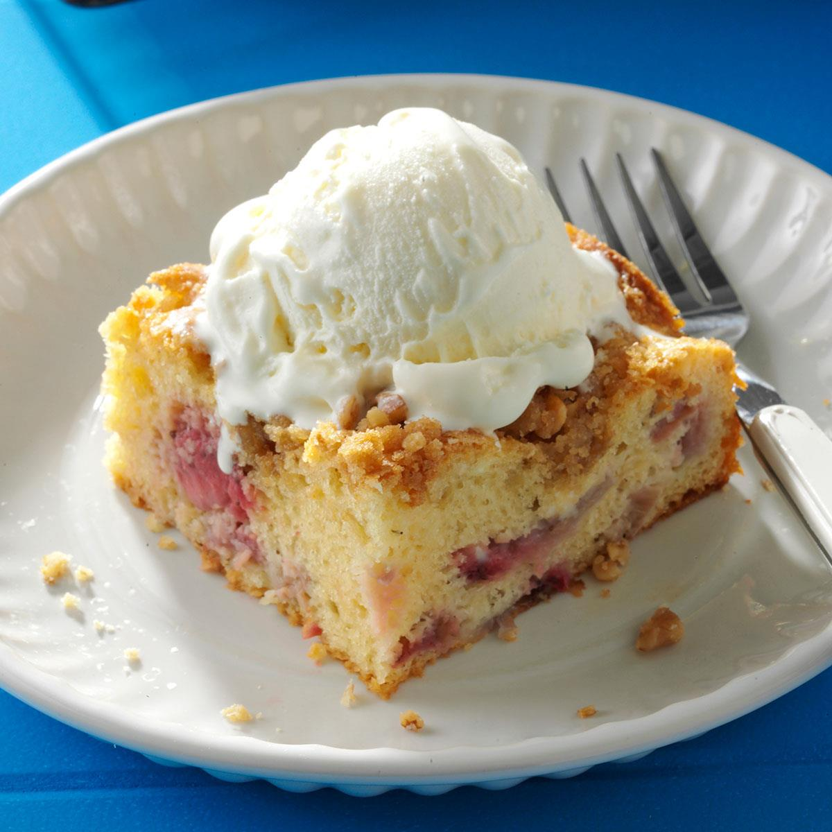 Taste Of Home Rhubarb Coffee Cake