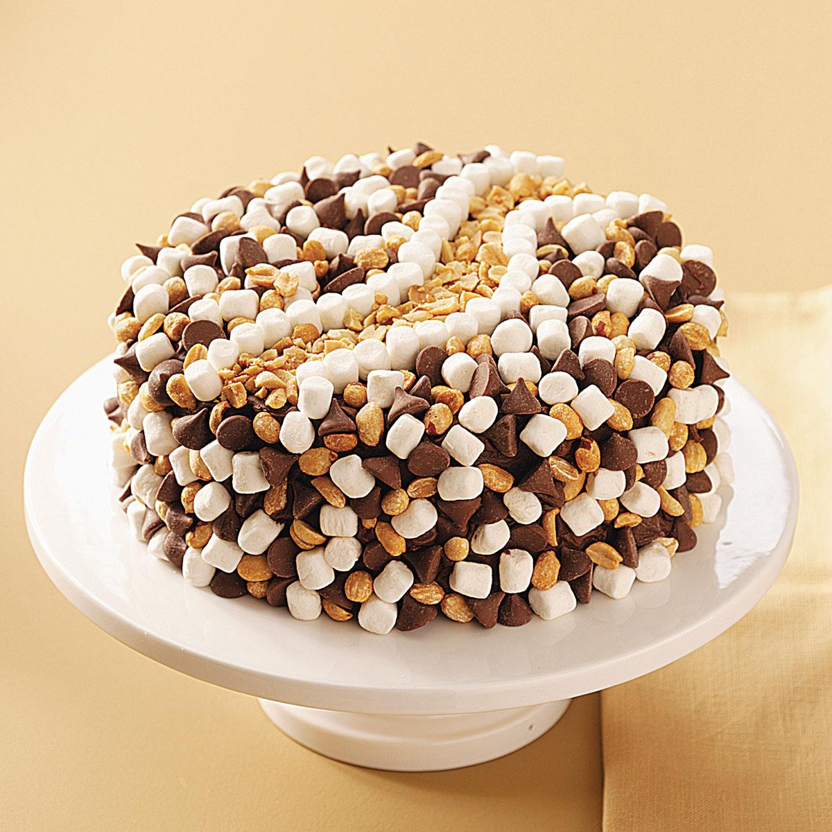 Rocky Road Cake Recipe Taste Of Home