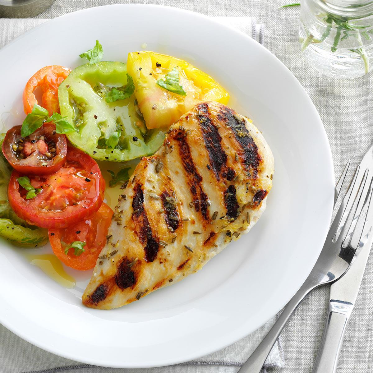 Rosemary-Lemon Grilled Chicken Recipe