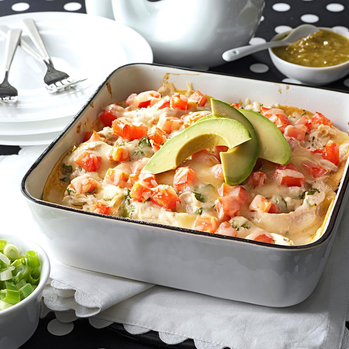 recipe: salsa verde chicken casserole [1]