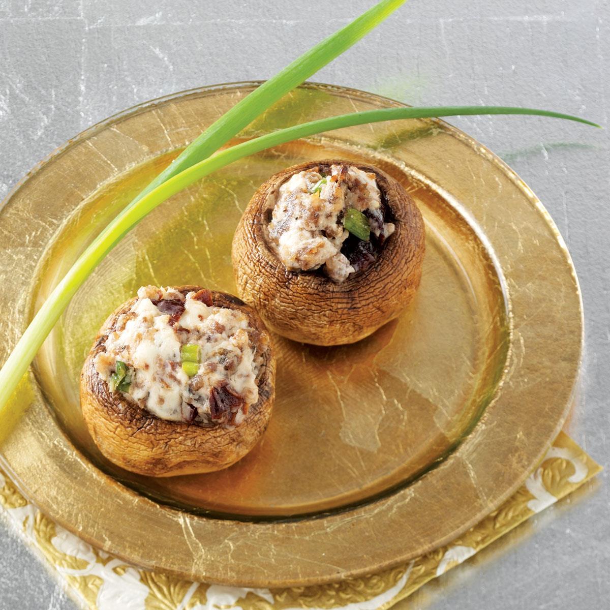 Sensational Stuffed Mushrooms Recipe | Taste of Home