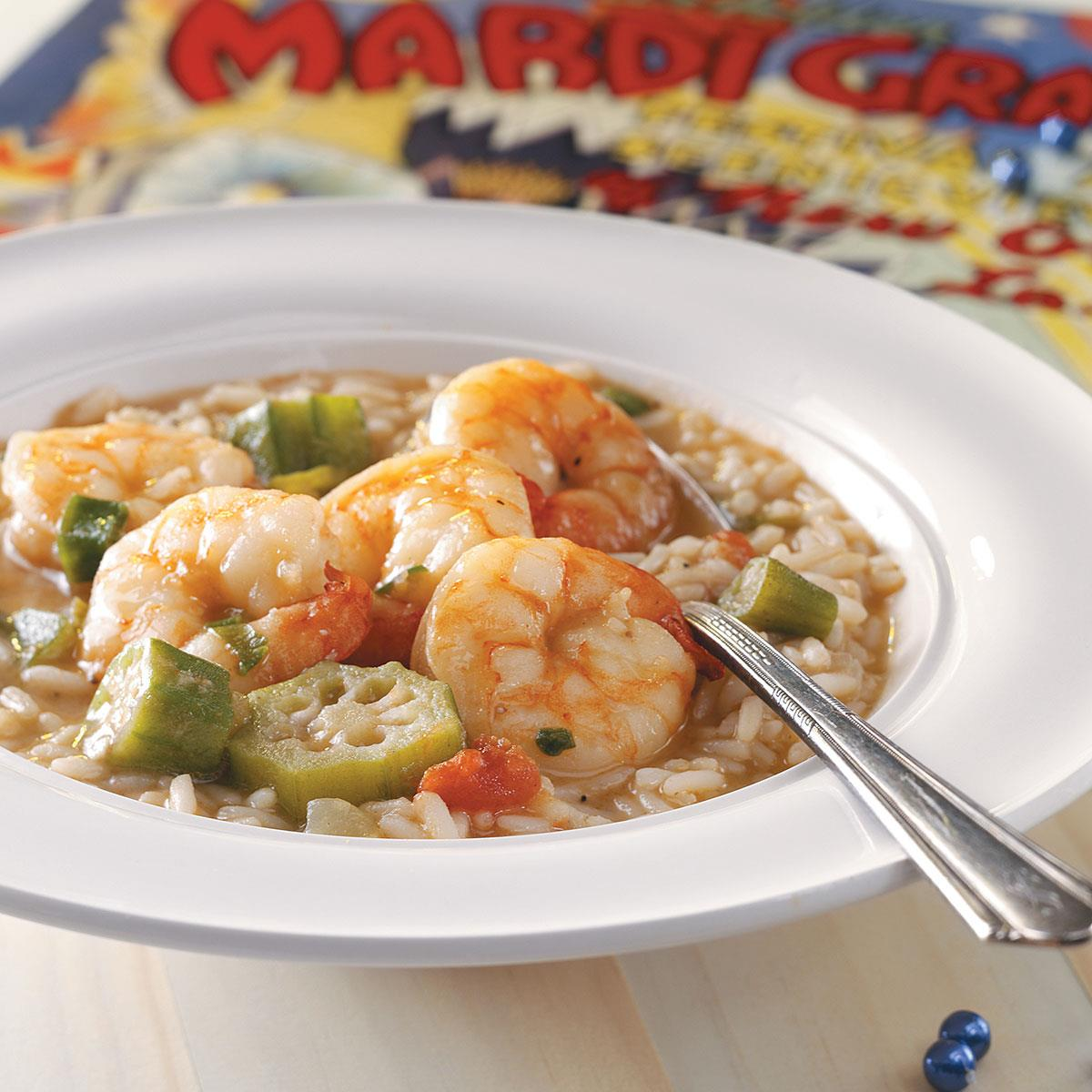 Shrimp Gumbo Recipe   Taste of Home