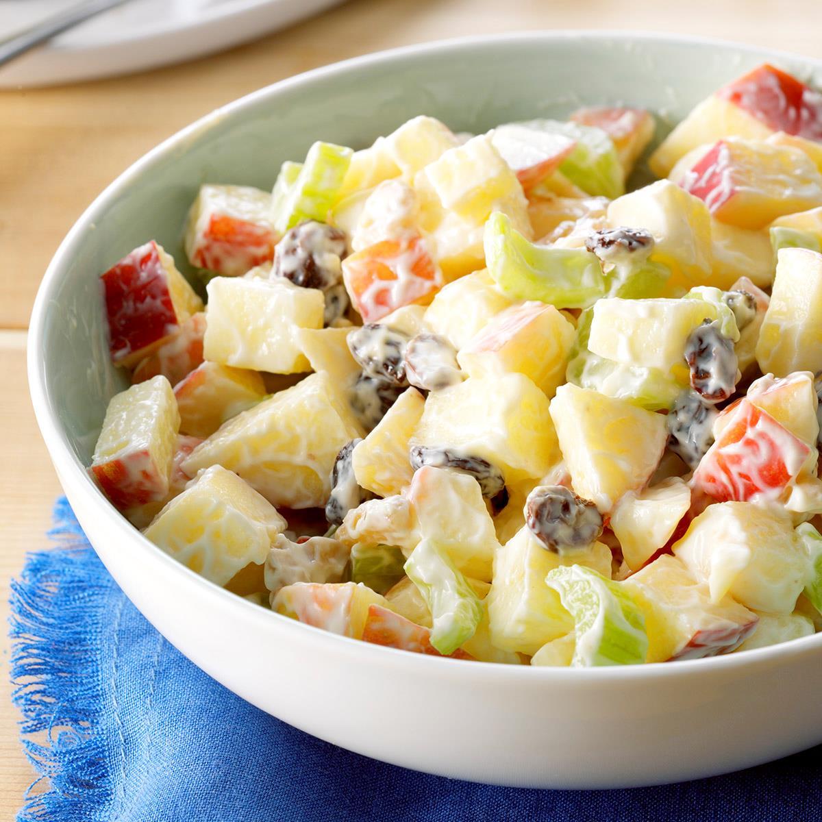 Simple Waldorf Salad Recipe Taste Of Home