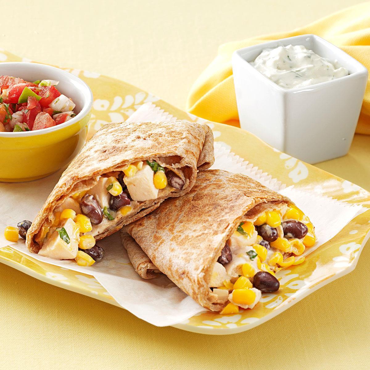 Salsa Chicken Burrito Filling Recipe - Allrecipes.com
