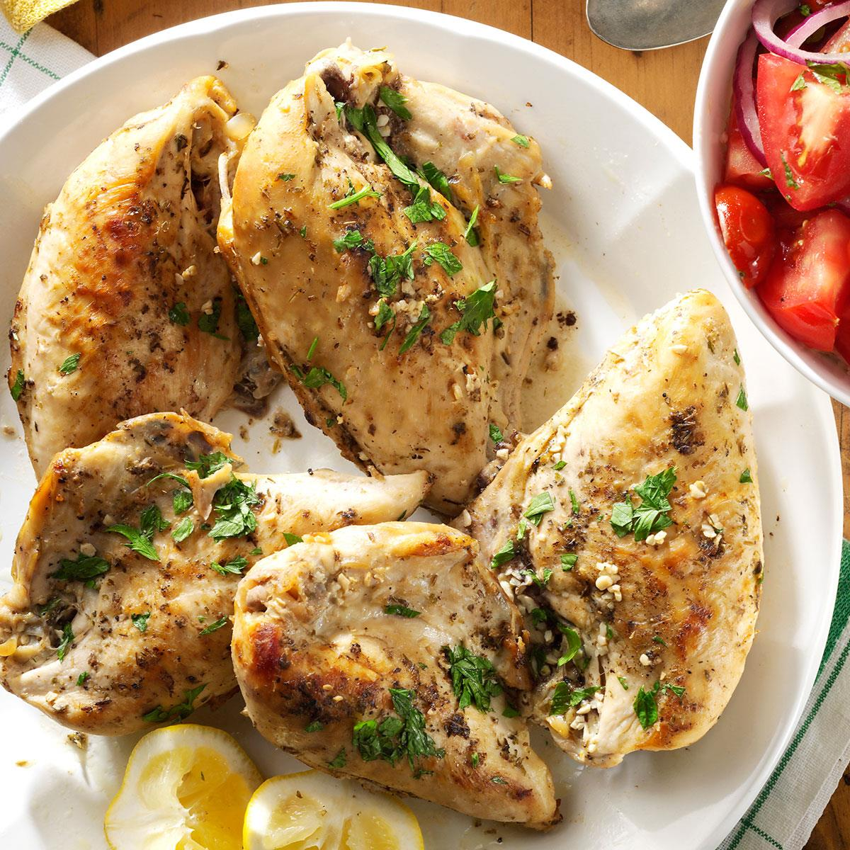 Slow-Cooked Lemon Chicken Recipe