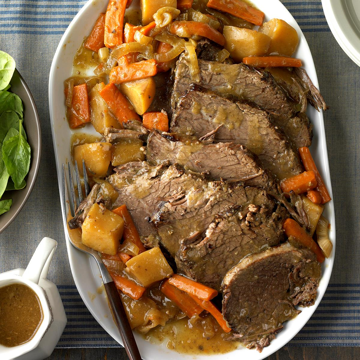 Slow cooked rump roast recipe taste of home forumfinder Choice Image