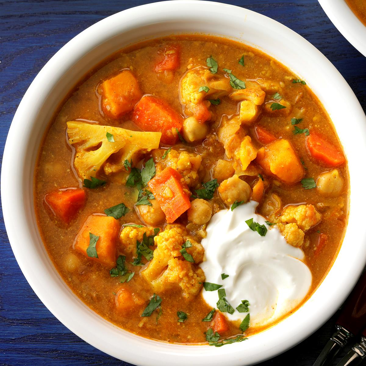Slow-Cooked Vegetable Curry Recipe