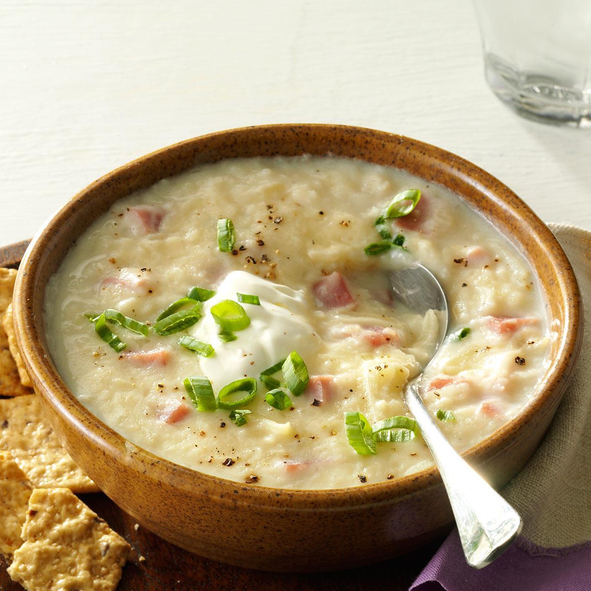 recipe: potato and ham soup [38]