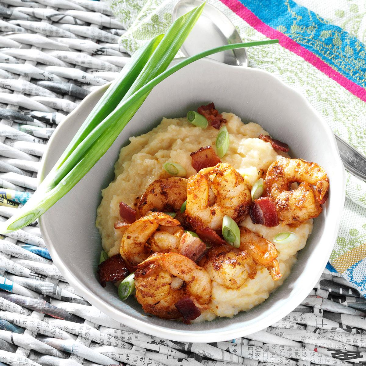 Southern shrimp and grits recipe taste of home forumfinder Choice Image