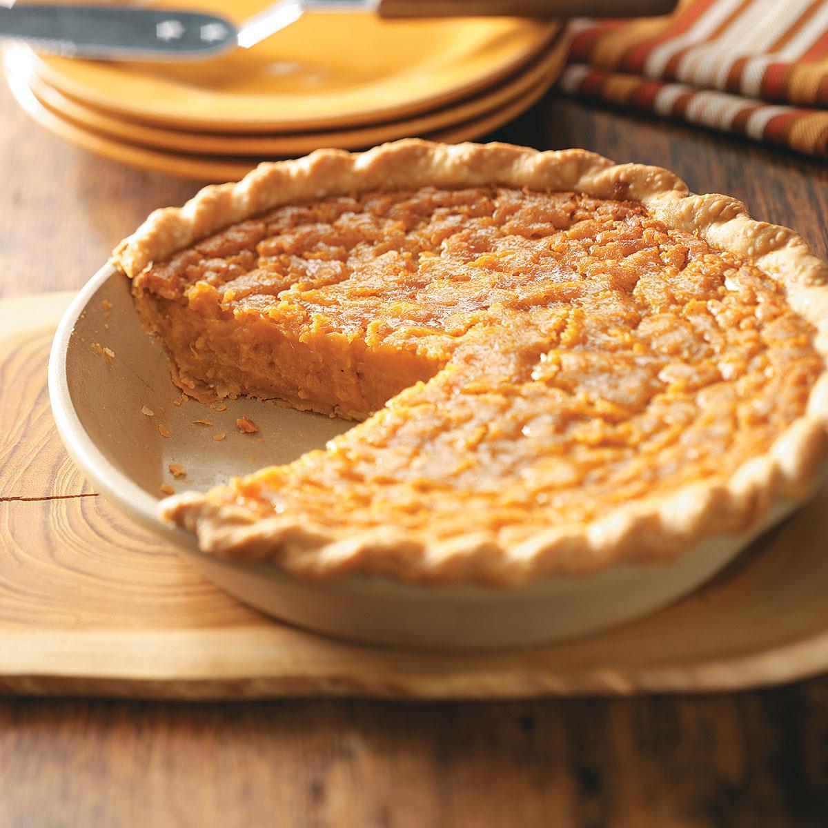 Southern Sweet Potato Pie Recipe Taste Of Home