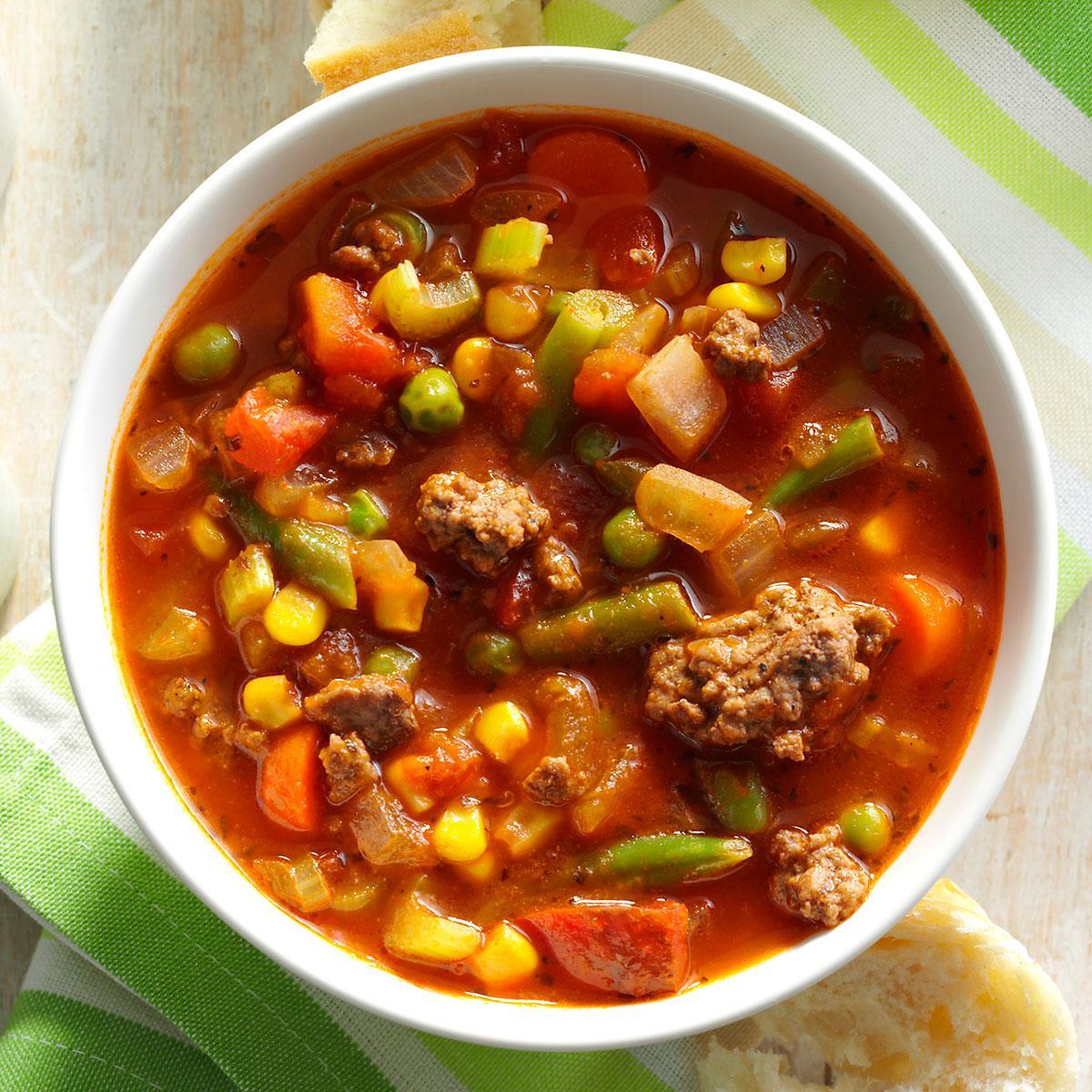 Spicy Beef Vegetable Stew Recipe