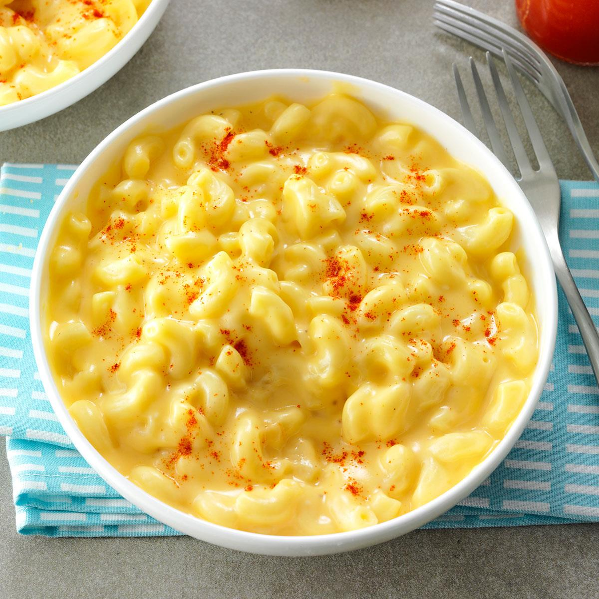 Stovetop Macaroni And Cheese Recipe Taste Of Home