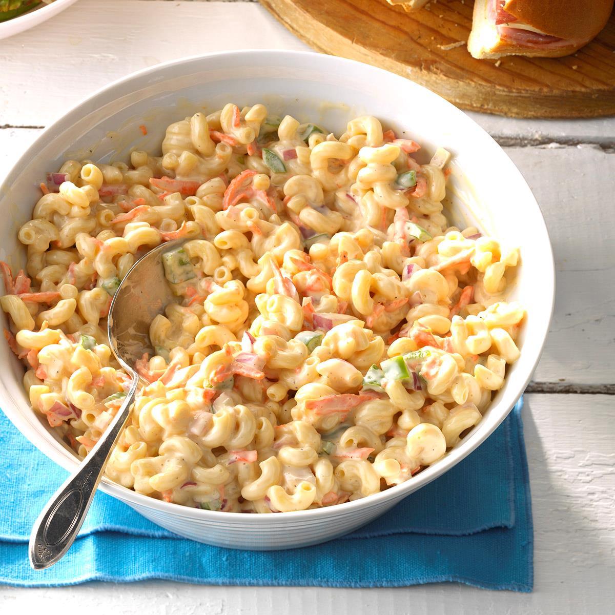 Sweet Macaroni Salad Recipe Taste Of Home