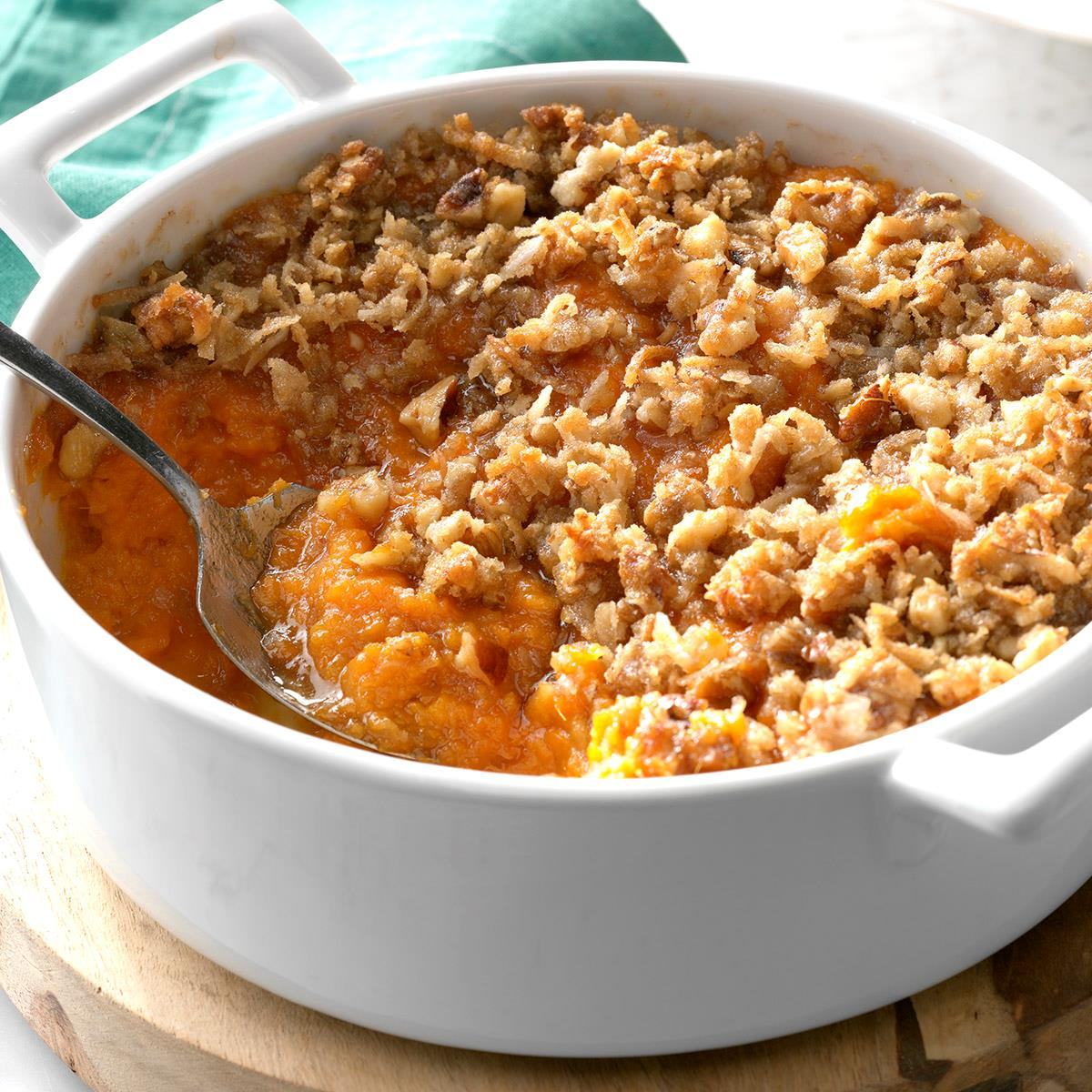 Sweet Potatoe Dishes: Sweet Potato Casserole Recipe