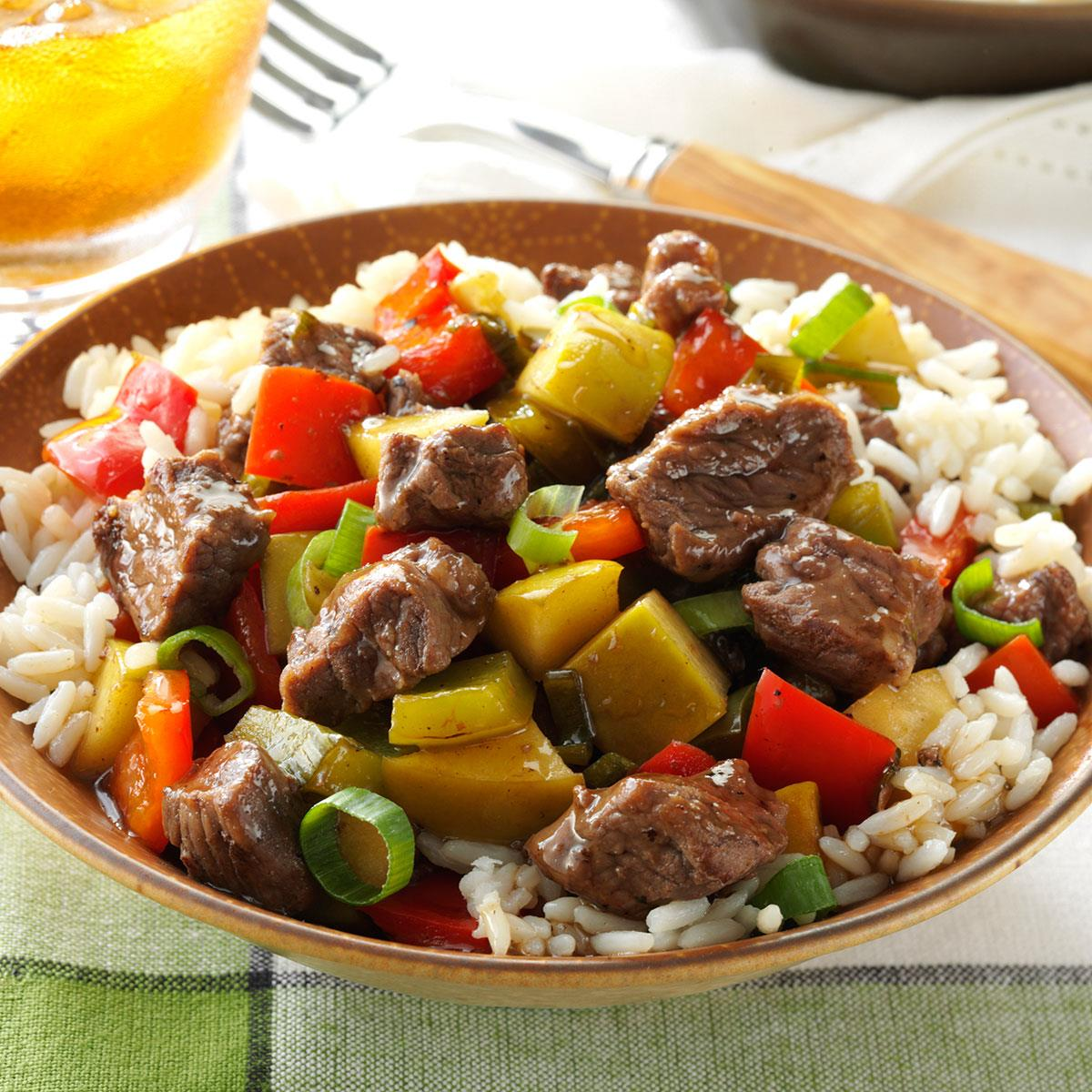 Sweet-and-Sour Beef Recipe