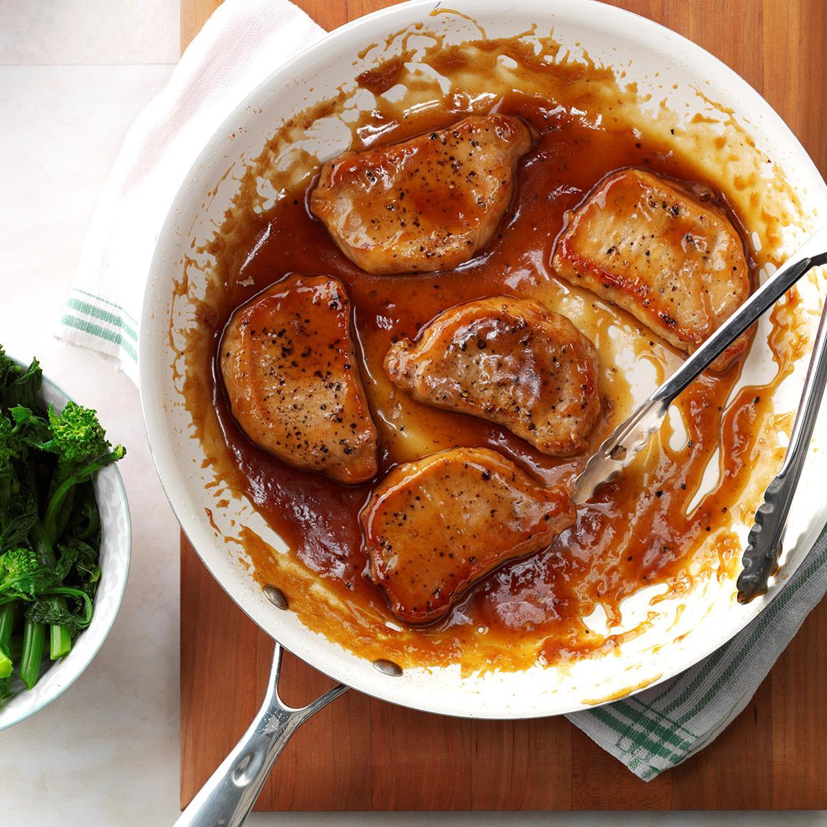 Tender Sweet 'n' Sour Pork Chops Recipe