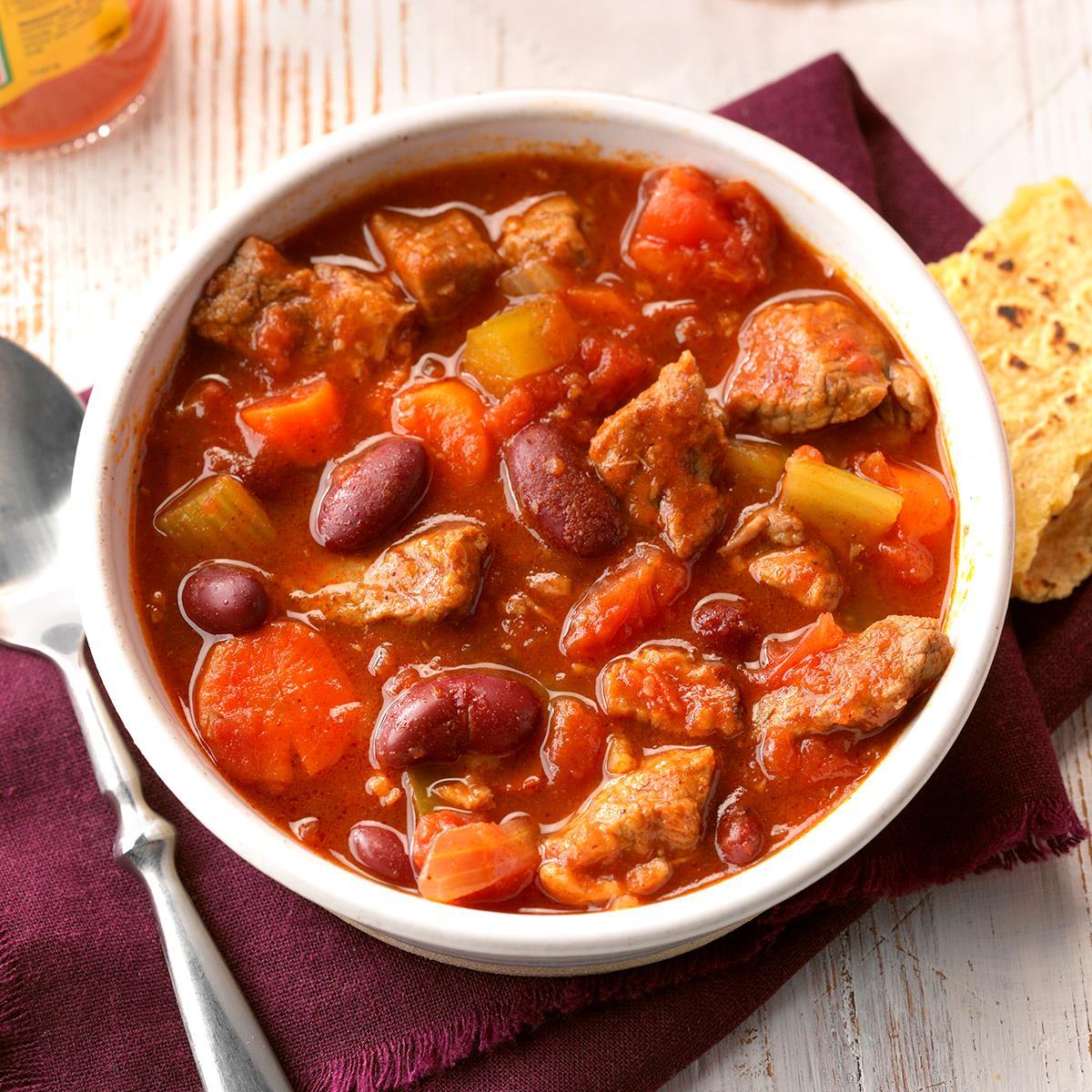 Texican Chili Recipe