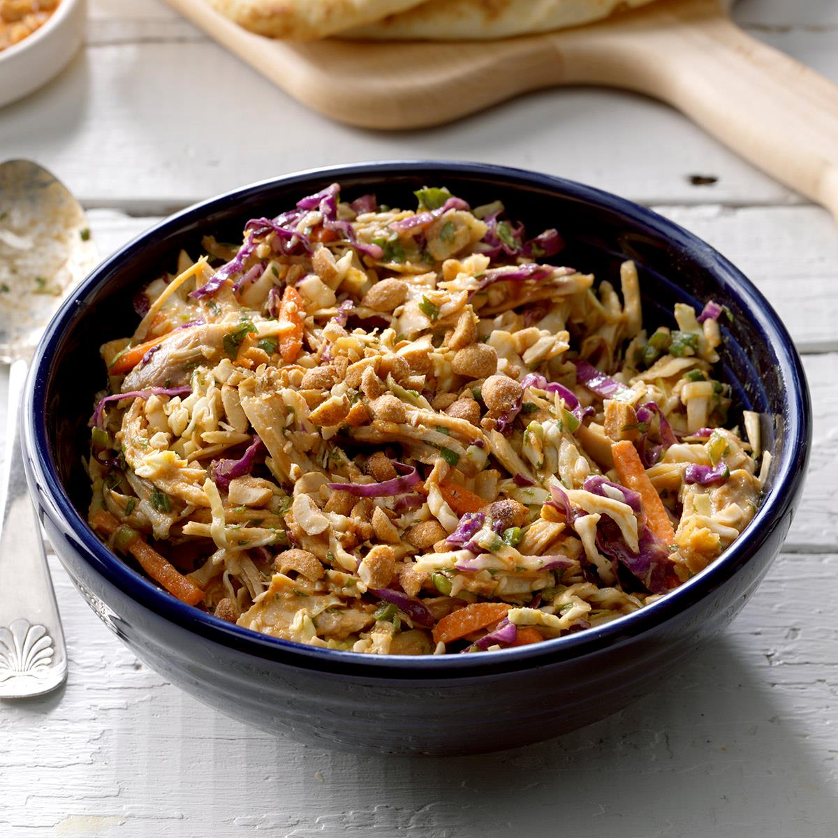 Thai Chicken Coleslaw Recipe