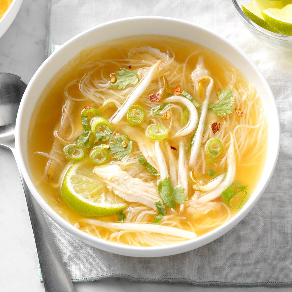 How To Make A Noodle Soup With Chicken