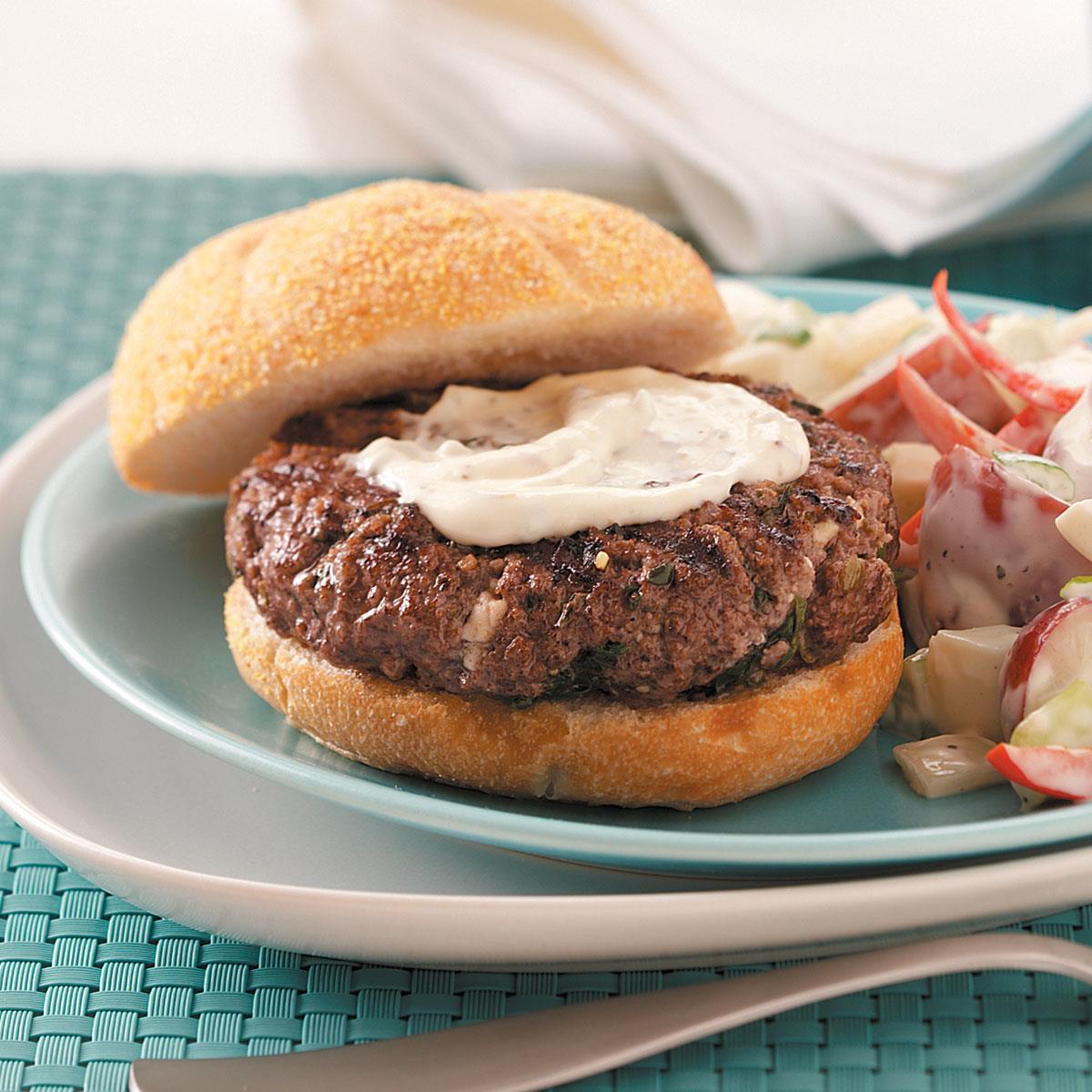 the perfect hamburger recipe taste of home. Black Bedroom Furniture Sets. Home Design Ideas