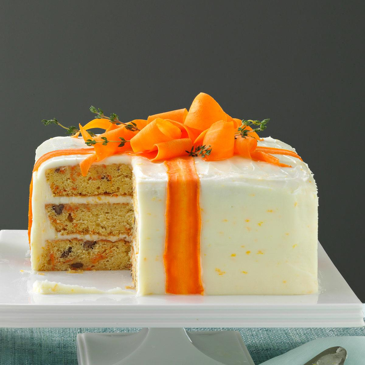 Three-Layered Carrot Cake Recipe