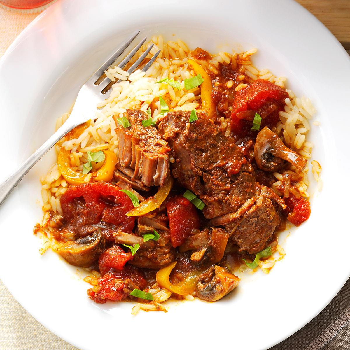 Tomato basil steak recipe taste of home forumfinder Image collections