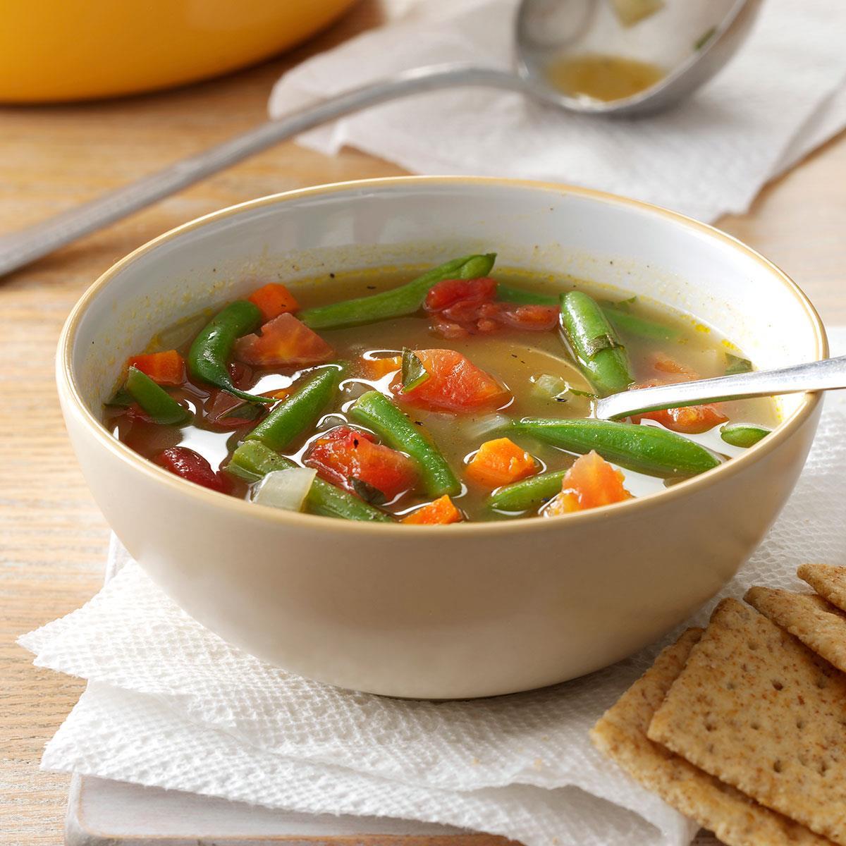 Tomato Green Bean Soup Recipe Taste Of Home