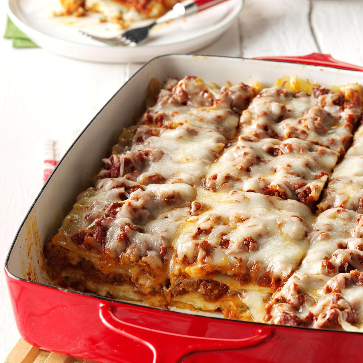 Traditional Lasagna Recipe