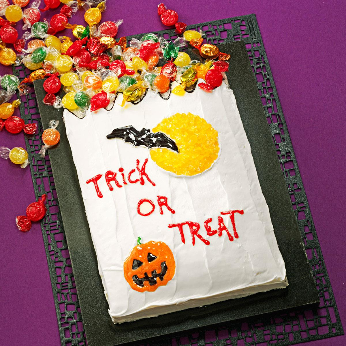 TrickorTreat Cake Recipe Taste of Home
