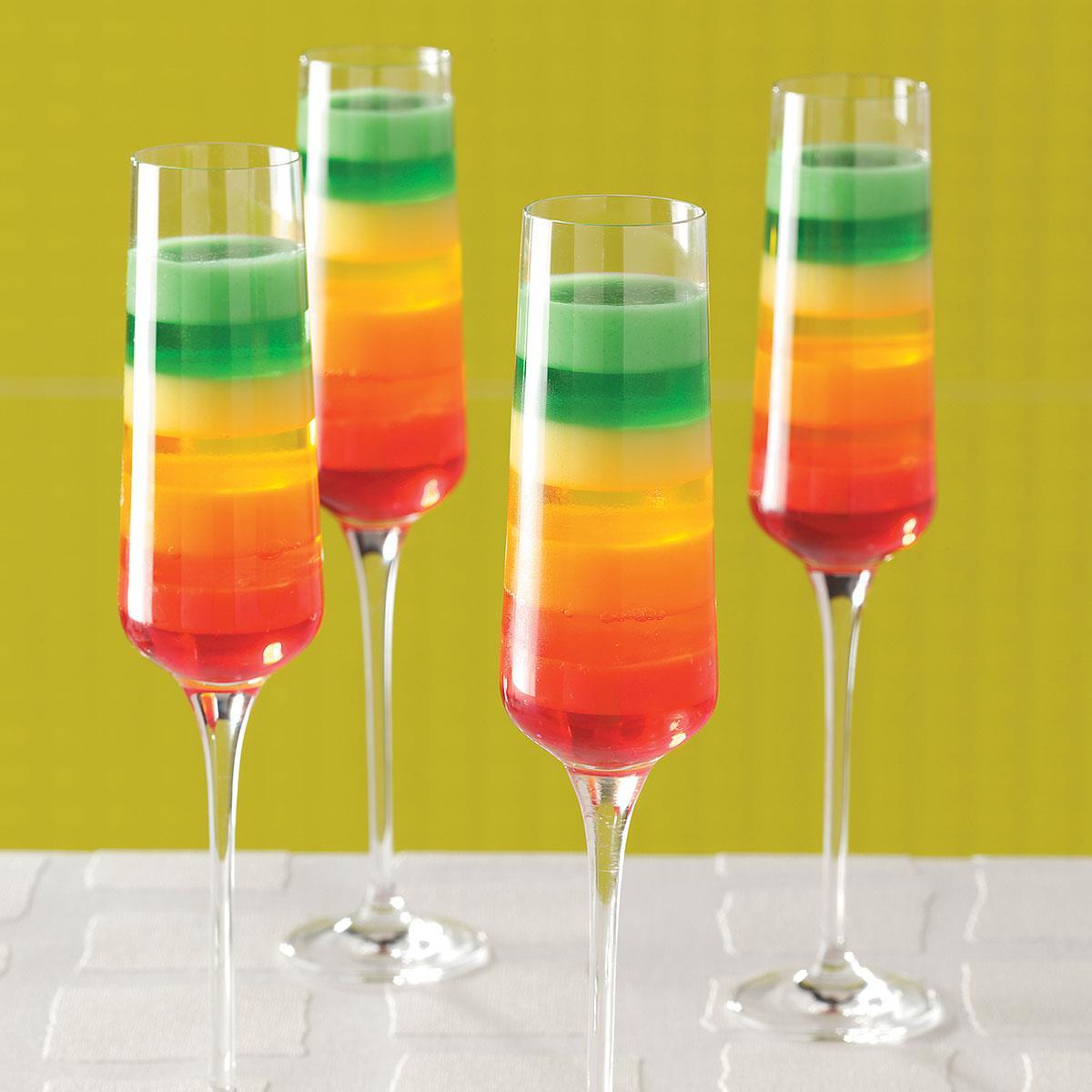 Tropical Rainbow Dessert Recipe Taste Of Home