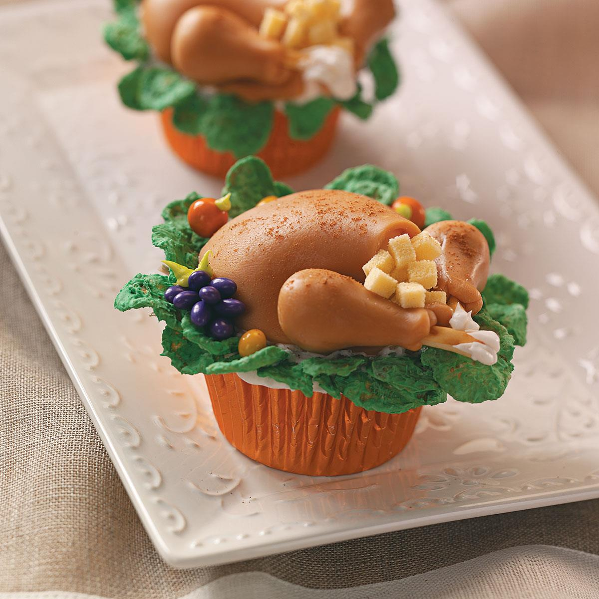 recipe: thanksgiving dinner cupcakes [1]