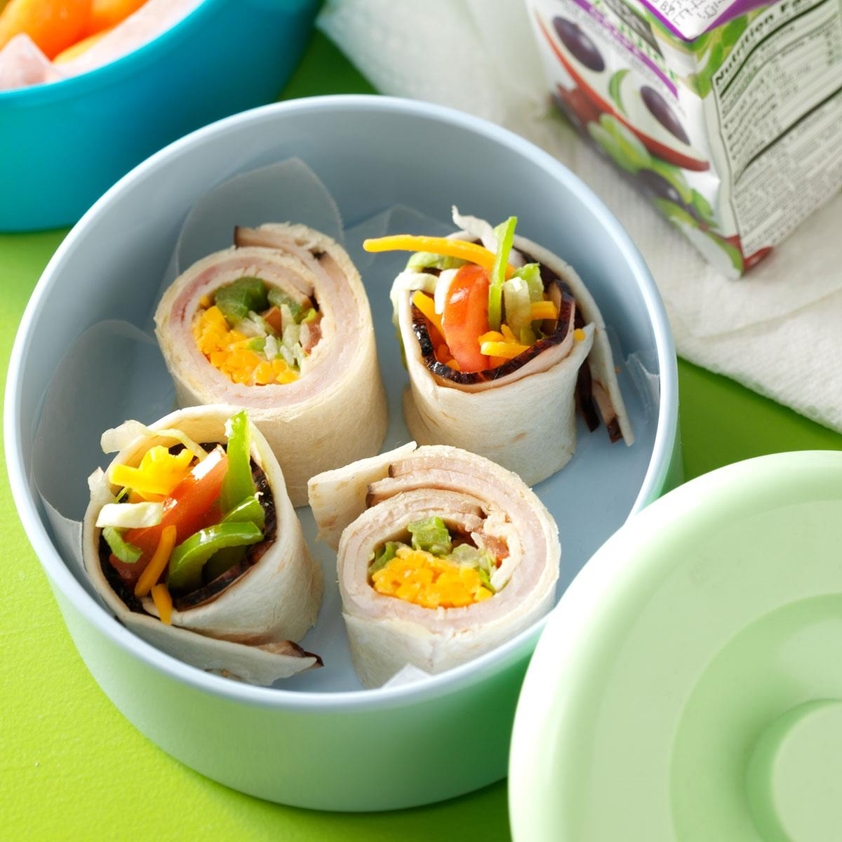 Turkey ranch wraps recipe taste of home forumfinder Image collections