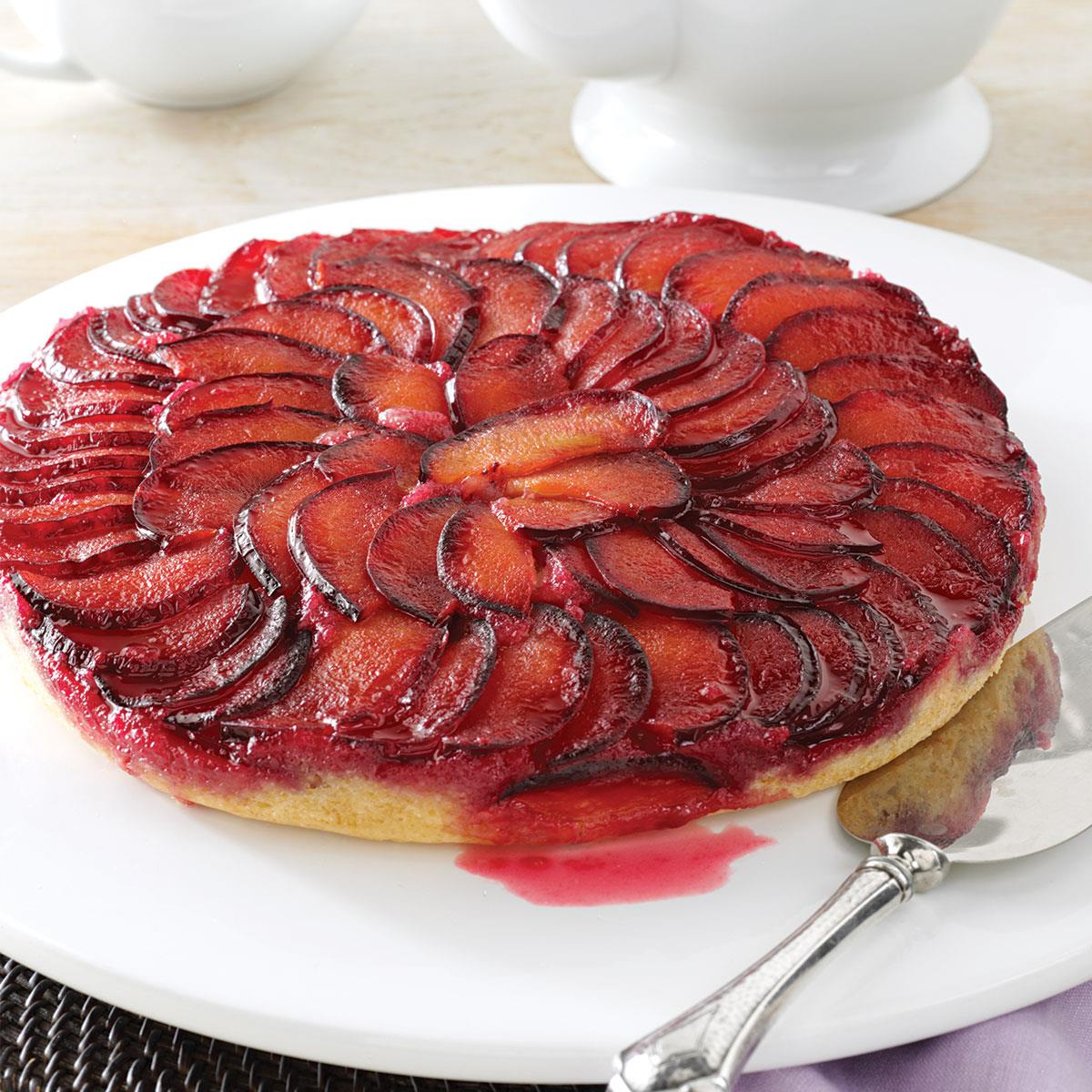 Recipe Of Plum Upside Down Cake