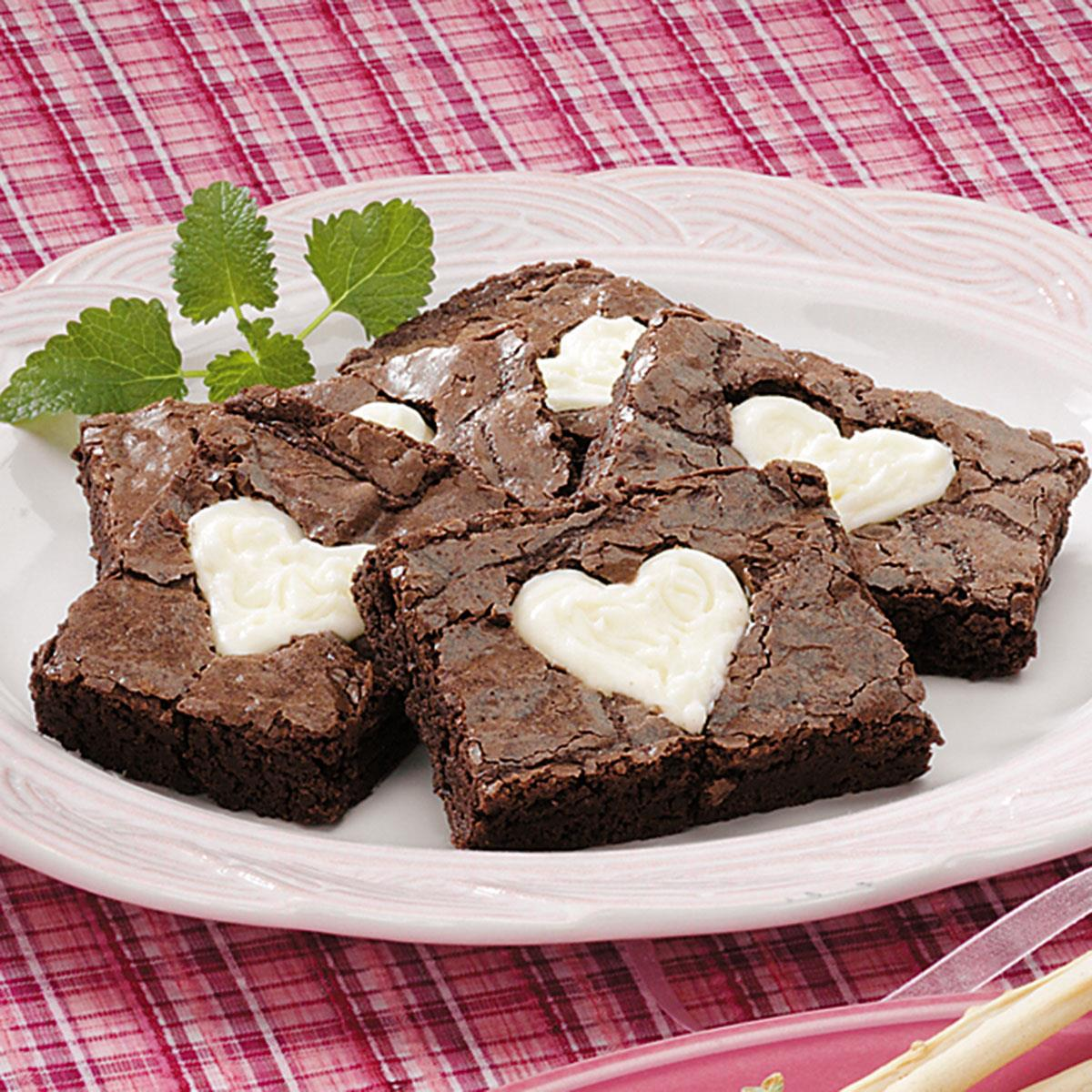 Valentine Brownies Recipe Taste Of Home