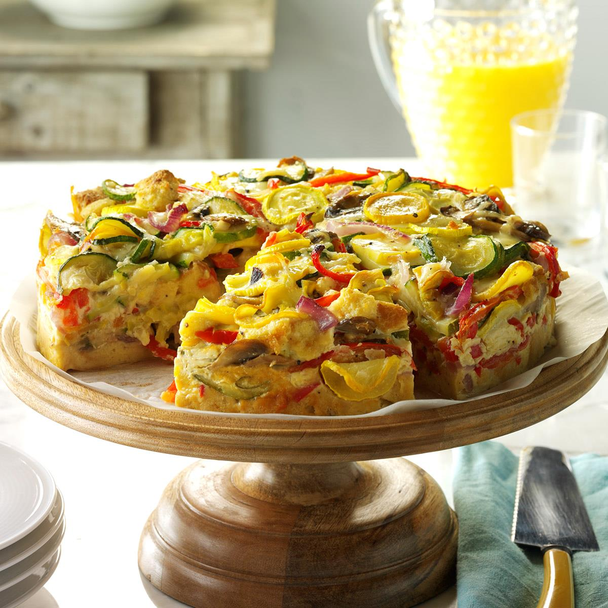 Veggie-Packed Strata Recipe