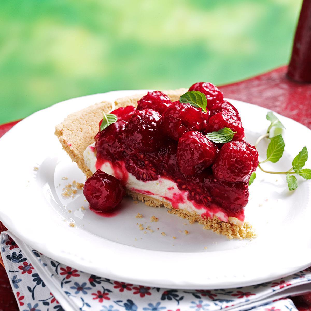 Very Raspberry Pie Recipe | Taste of Home