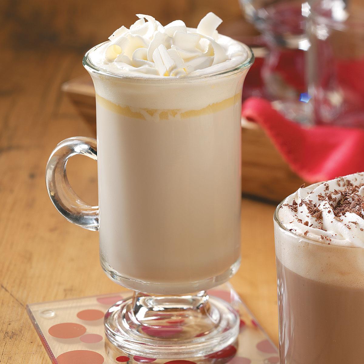 White Chocolate Brandy Alexander Recipe Taste Of Home