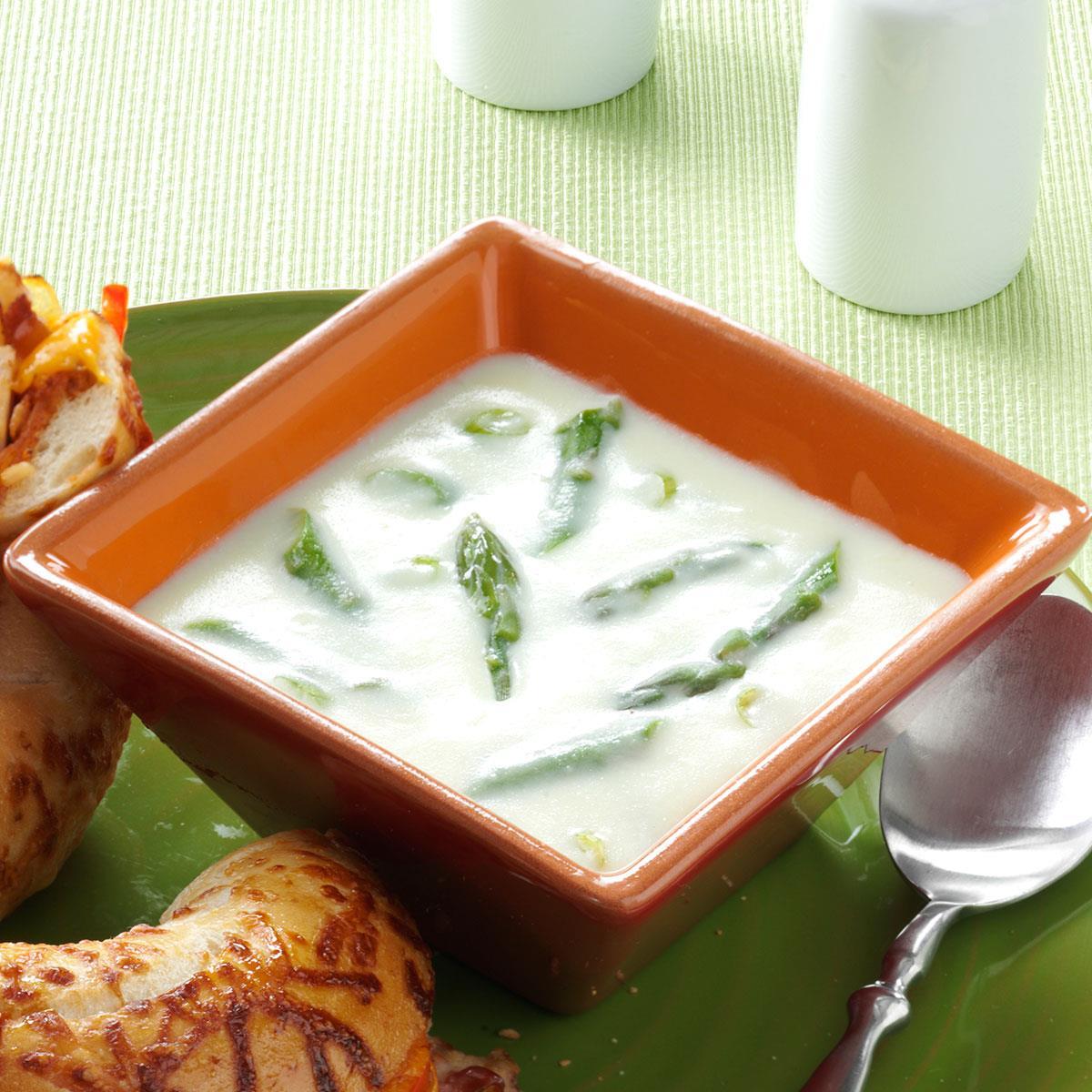 Soup Recipes Asparagus: Winning Cream Of Asparagus Soup Recipe