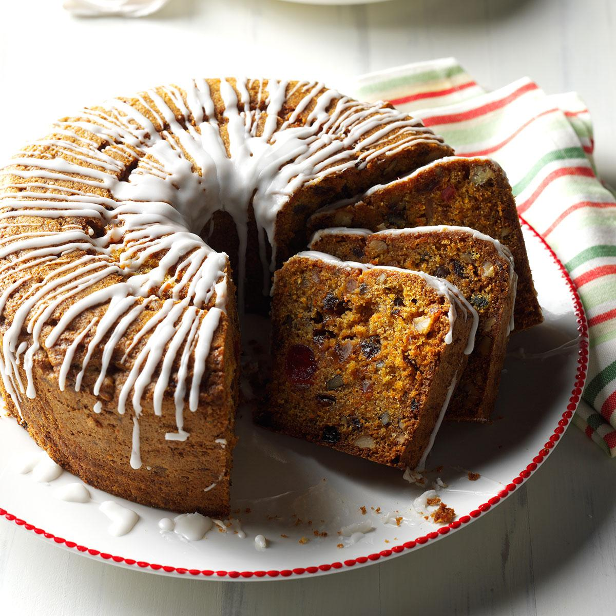 Carrot Fruitcake Recipe Taste Of Home