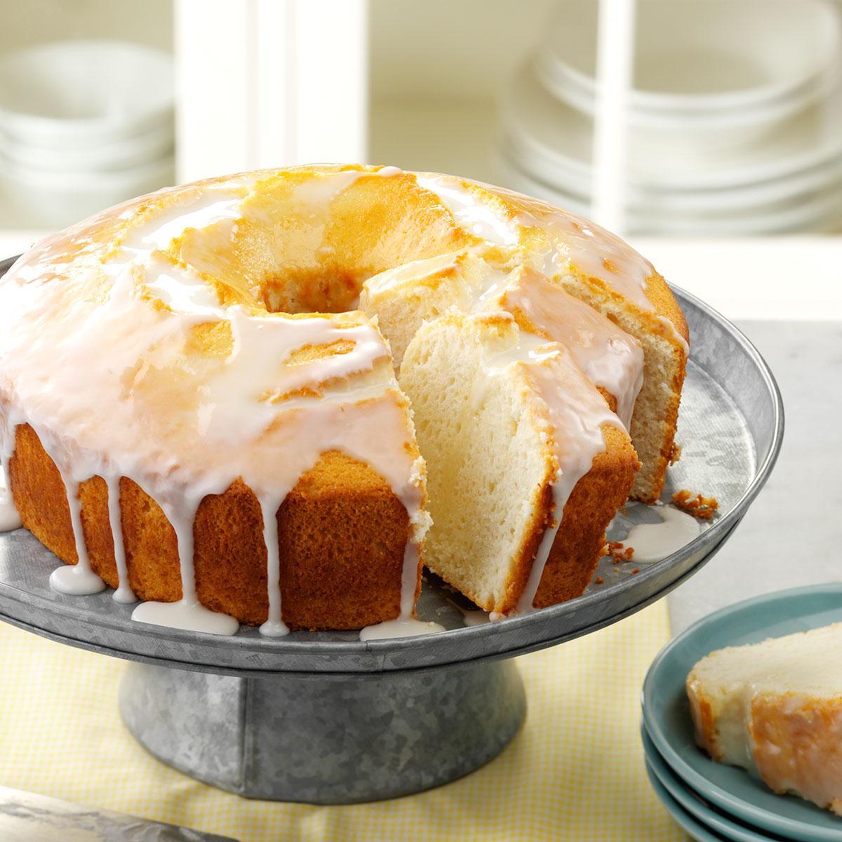 Moist Lemon Chiffon Cake Recipe | Taste of Home