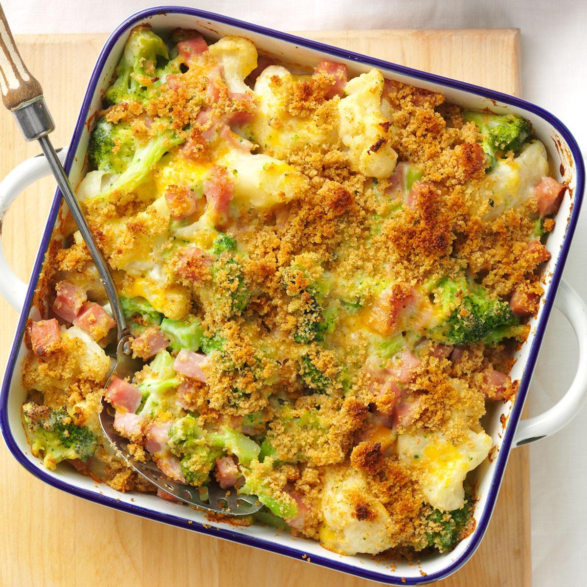 Casseroles Recipes: Ham & Veggie Casserole Recipe