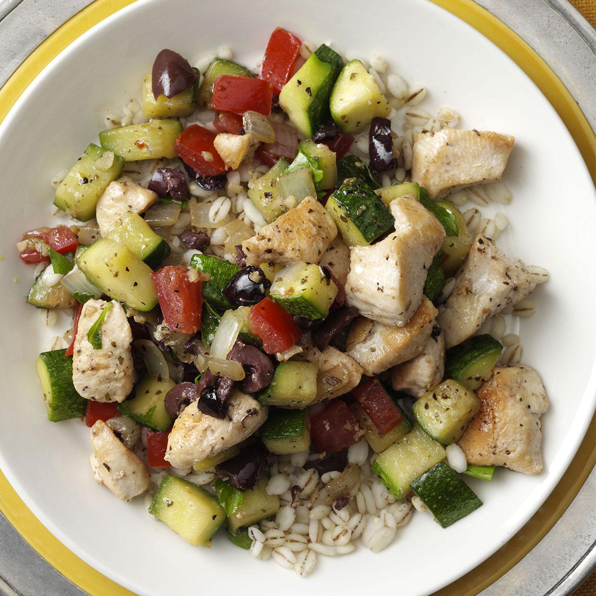 Mediterranean Chicken Stir-Fry Recipe
